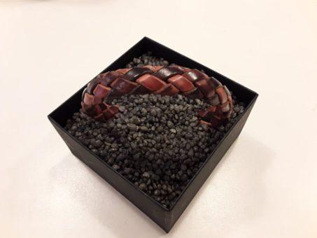 Armband - Leder mit Magnetschloss von Schmuckwerk